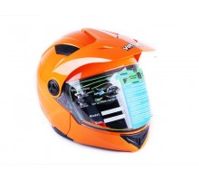 Шлем MD-900 оранжевый (трансформер) size L - VIRTUE