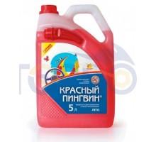 Жидкость для омывания стекол автомобиля 5л. Красный Пин...