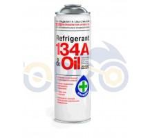 Газ- хладагент с маслом для автокондиционеров 500мл (R-...