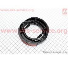 Тормозные колодки барабан Suzuki LET'S / AD100