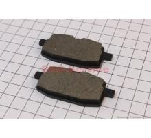 Тормозные колодки передние дисковые к-т(2шт.)