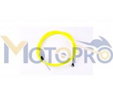 Трос переднего тормоза Honda DIO (уп.1шт, желтый) VLAND...