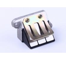 AD50sepia - лепестковый клапан (металл)