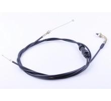 Lead - трос газа (раздвоенный) L-2220mm (верх резьба,ни...