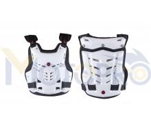 Защита жилет (size:L, белый, mod:AM05) SCOYCO